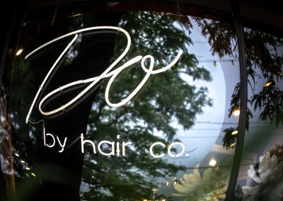 Do by Hair Sign